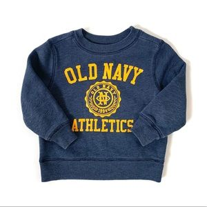 3/$25 Old Navy Baby Boy Crewneck Sweatshirt